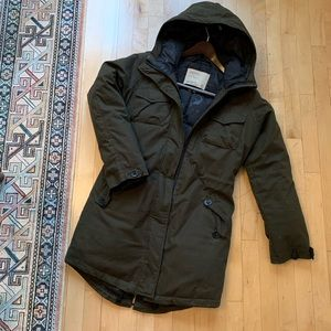 Aritzia Community Parka (down-filled, size S)